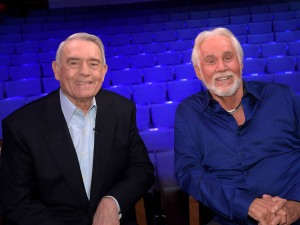 "Kenny Rogers Visits ""The Big Interview With Dan Rather"""